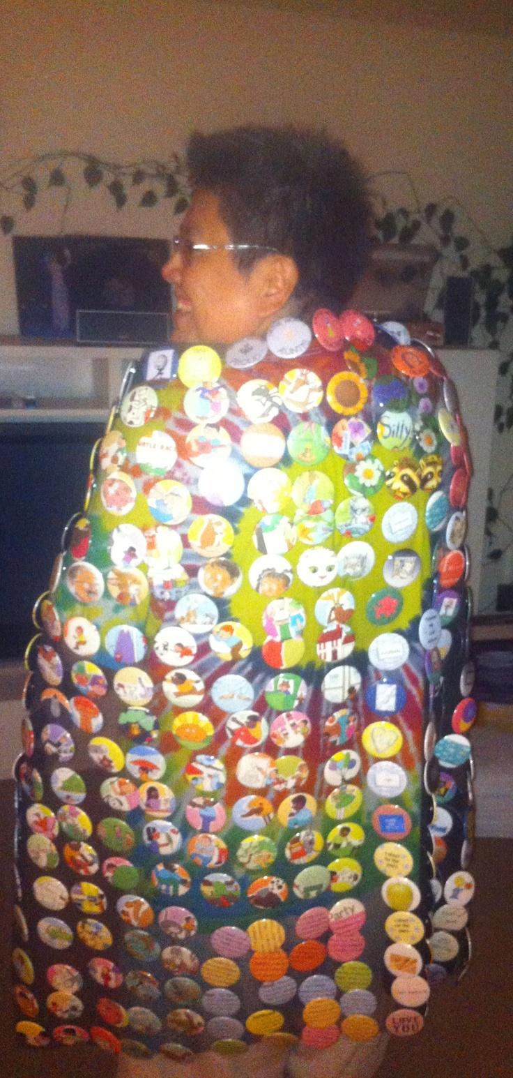 My button blanket