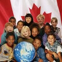 Families form different raises come to canada to have a better life and still feel conected to the country.