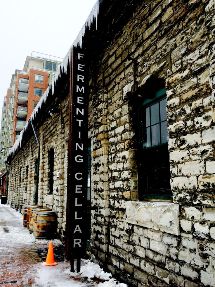 The Fermenting Cellar at The Distillery District. A space for events, markets and much more.