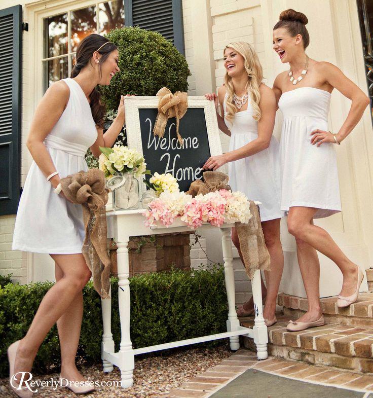 RevelryDresses.com  Group order discounts for custom sorority recruitment dresses!