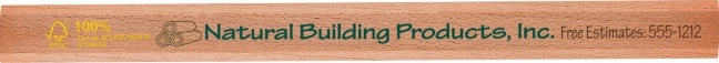 Carpenter Pencil.  The Forest Stewardship Council (FSC) promotes responsible management of the world's forests.Shepenco® supports sound forest management and environmental responsibility by offering FSC pencils. Contact your Geiger Rep. or call 1.866.843.1212 for more information.