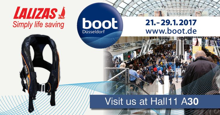 BOOT 2017 Show has finally arrived! Visit our booth and let us inform you about the latest product releases! Get the excitement! See you all at Hall 11 A30! Boot Düsseldorf #boot2017