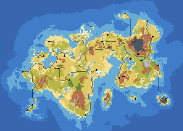 Continent Fictional Map Generator