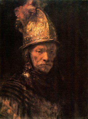 Rembrandt - Man with golden helmet