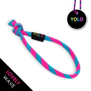 LOVELY WAVE - YOLO!  www.yoloshop.pl NEON PINK&BLUE