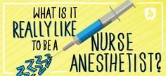 What is it REALLY Like to be a Nurse Anesthetist? #nursing #nursingcareers
