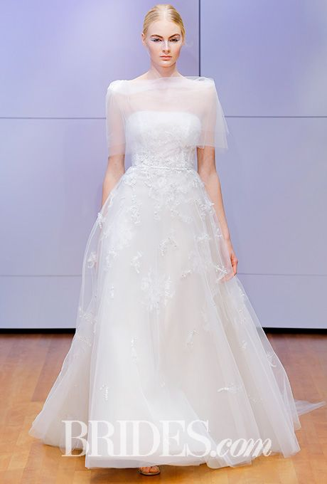 Layered ball gown with beaded accents Rivini by Rita Vinieris Wedding Dress - Fall 2016 - Brides.com