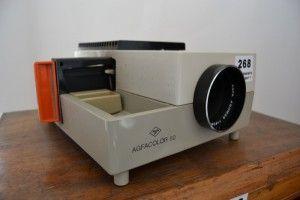 Basement 7 - Provenance Auction House: Agfa Colour Slide Projector.