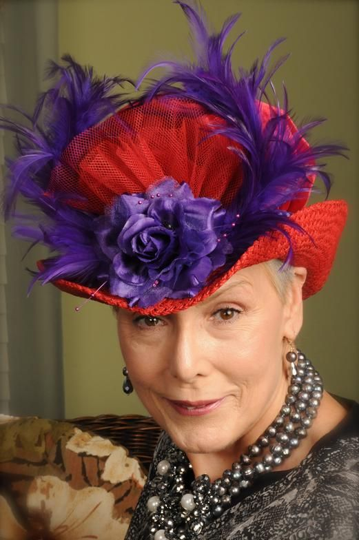 Red Hat Society Art | Red Hat Society Hats Red hat society