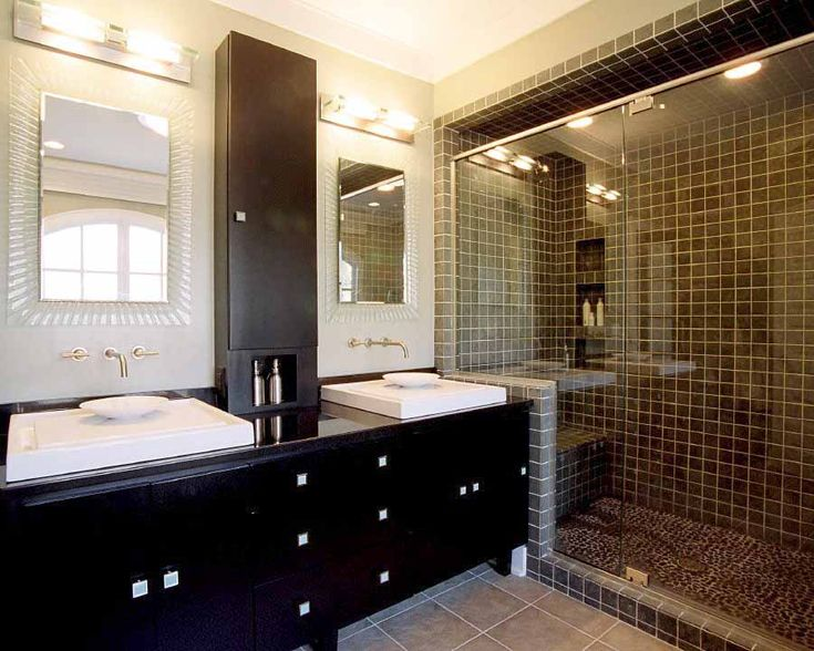 7 best images about 2016 modern bathroom design trends on for Small bathroom decor ideas 2016