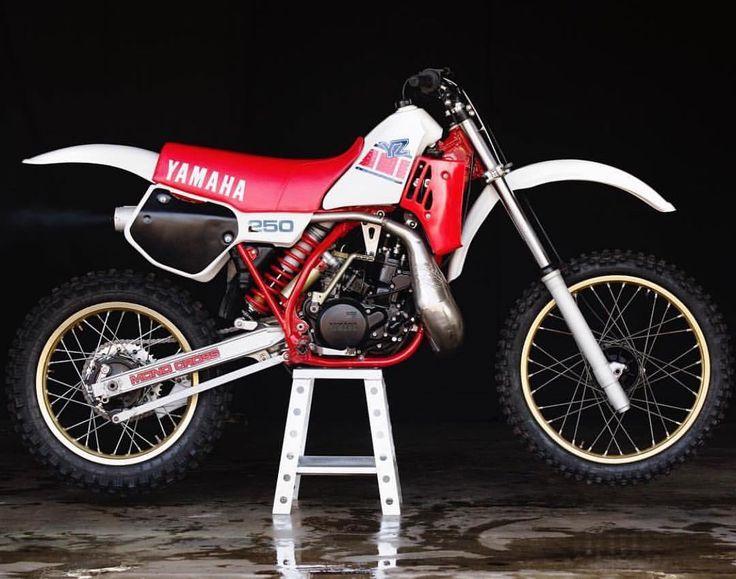 1985 Yamaha Yz250 Fun 2 Stroke Back In The Days Yamaha Dirt