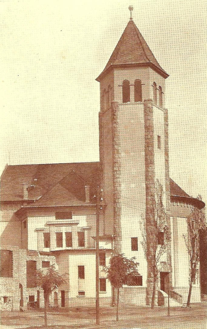 Wekerlei Református Templom régen.