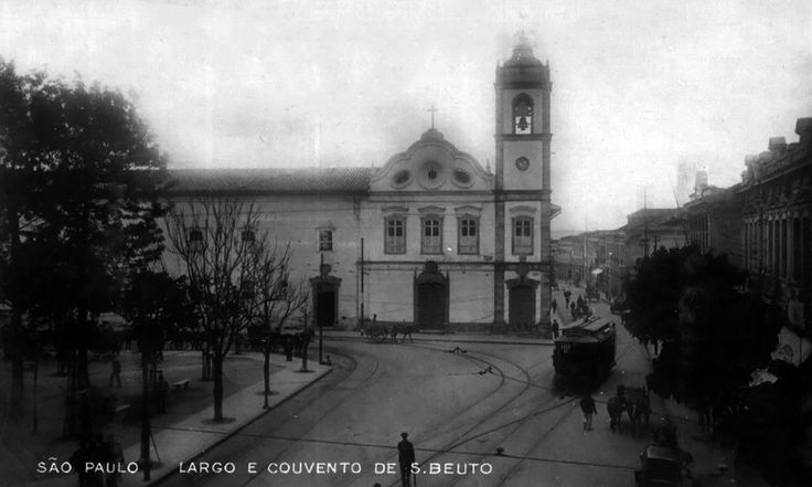 Mosteiro de Sao Bento 1909 - Sao Paulo, Brazil