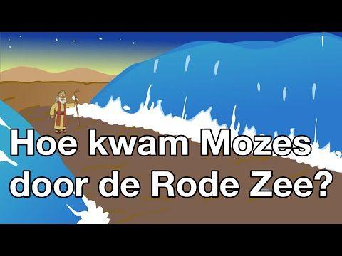 Hoe kwam Mozes door de Rode Zee (met tekst) - Bijbelliedjes - YouTube