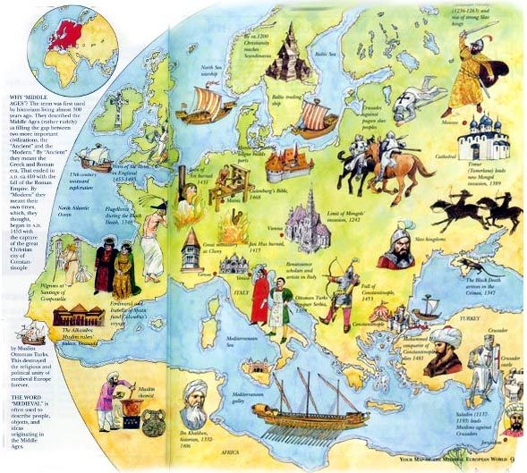 the european middle ages change The period of european history extending from about 500 to 1400–1500 ce is traditionally known as the middle ages the term was first used by 15th-century scholars to designate the period.