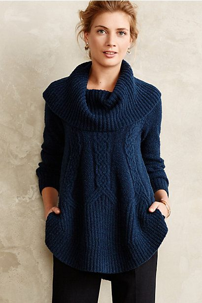 Cabled boucle pullover #anthrofave http://rstyle.me/n/sznt9nyg6