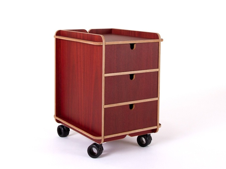 Acco Unit Drawer by Bold-Design for L'EDITO. Specifically adapted to the ACCO Desk. Choose your color online! From $442  http://www.ledito.com/unit-drawer-acco.html
