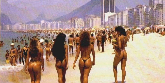 Copacabana Beach and Leme Beach
