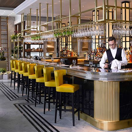 The royal borough's newest eatery – Kensington Pavilion – is as much an interior design destination as it is a fine dining experience.