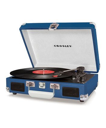 Crosley | Record Player. Retro gadget...I need one!: Record Players, Gift, Cruiser Turntable, Cruiser Portable, Vinyl, Crosley Cruiser, Products, Portable Turntable