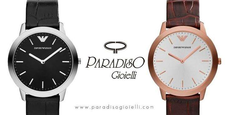 #EmporioArmani #Watchs #Classic La #collezione #orologi #uomo Emporio Armani