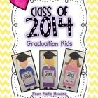 Hooray! The end of the school year! It's an exciting time for so many reasons! These graduation kids make a fabulous craftivity and/or hallway display to celebrate this special time! People are sure to LOVE them!