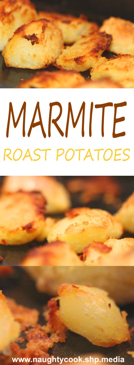 I'm not sure how most people make new culinary discoveries, but mine usually come when I'm in a rush; and these Marmite roast potatoes are a perfect example. I wanted to do something a little different to add another dimension to Sunday lunch.