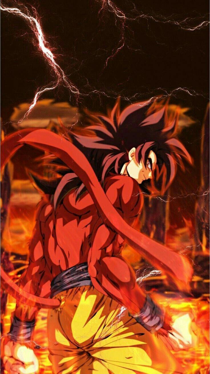 Goku ss4 #db #dragonball