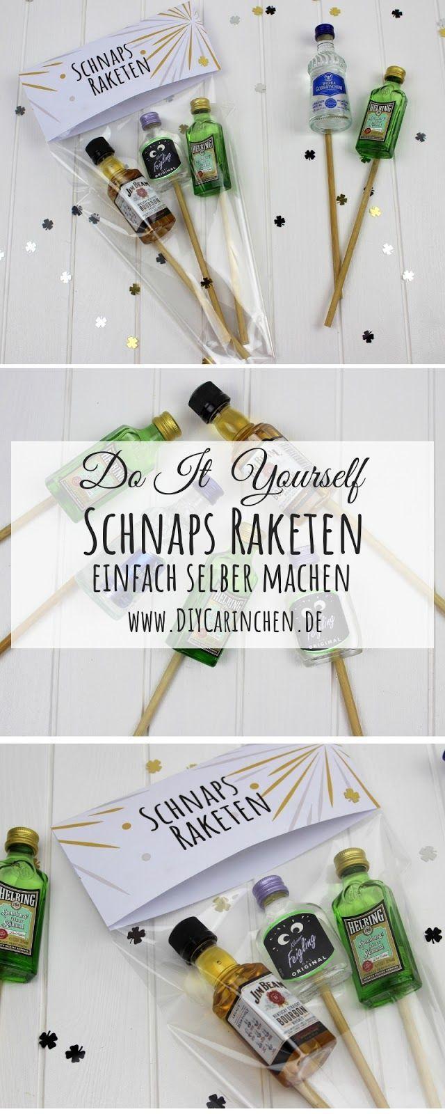 25 + › Machen Sie selbst DIY-Schnapsraketen – die perfekte Geschenkidee für Silvester und Ihre Silverster-Feier + gratis