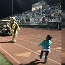 6-Yr-Old Busts Out Adorable Dance Moves At Halftime, Then The Mascot Joins In And The Crowd Goes Wild! - At InspireMore, we've seen some pretty incredible dance-offs go down. There was the Dean of Students in a Chicago neighborhood whose … #life #happy #inspiration #today