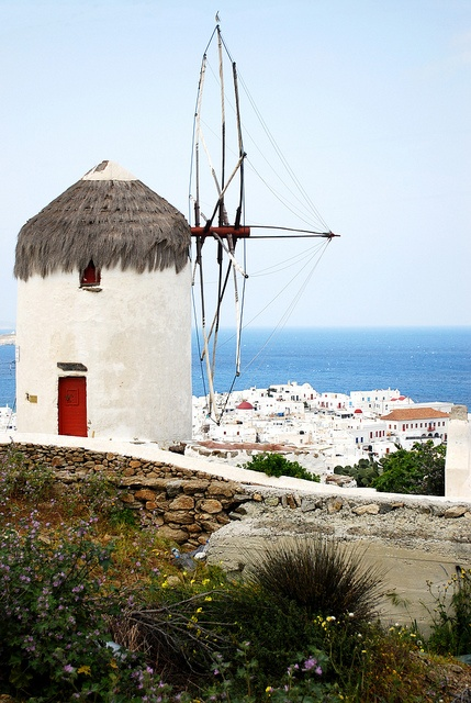 Windmills of Mykonos , Greece                                                                                                                                                                                 Mais