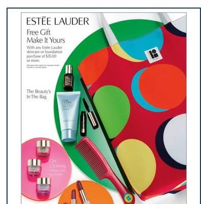 Estee Lauder FREE Gift with Purchase*!