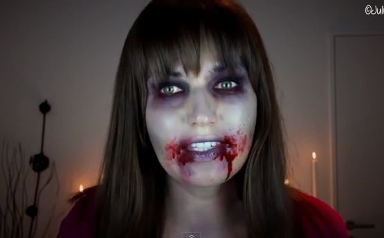Not sure what to be for Halloween? Be a zombie, it's relatively easy. Julia Graf has the perfect zombie makeup tutorial for you. You'll look like an extra on The Walking Dead.
