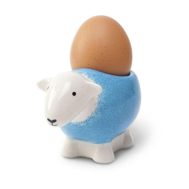 Herdy Egg Cup Blue blue, egg cup, dining & entertaining