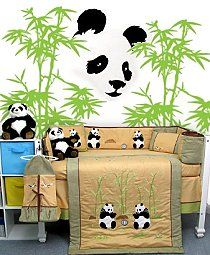 panda nursery bedding | ideas - Asian themed baby nursery decorating ideas - Asian home decor ...