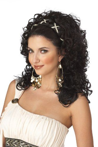 California Costumes Grecian Goddess Wig, Dark Brown, One Size California Costumes http://www.amazon.com/dp/B004WPHV5Q/ref=cm_sw_r_pi_dp_PRYdub1G73BVA
