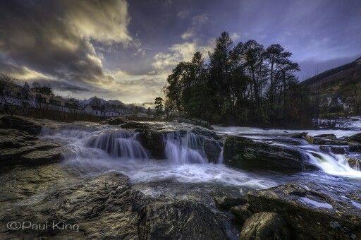 Falls of Dochart  - (explore your biking wanderlust on www.motorcyclescotland.com)