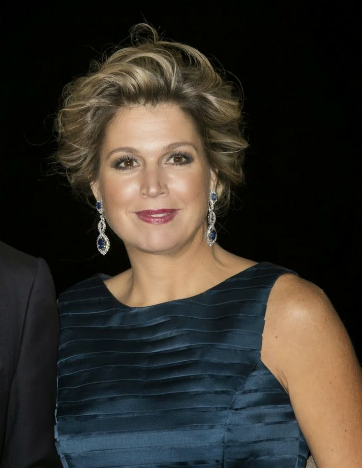 Queen Maxima attended a celebration of the reign of Princess Beatrix  in Rotterdam