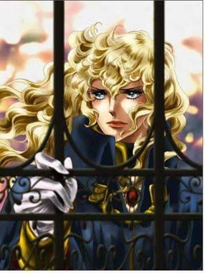 Lady Oscar from Rose of Versailles, artist unknown.