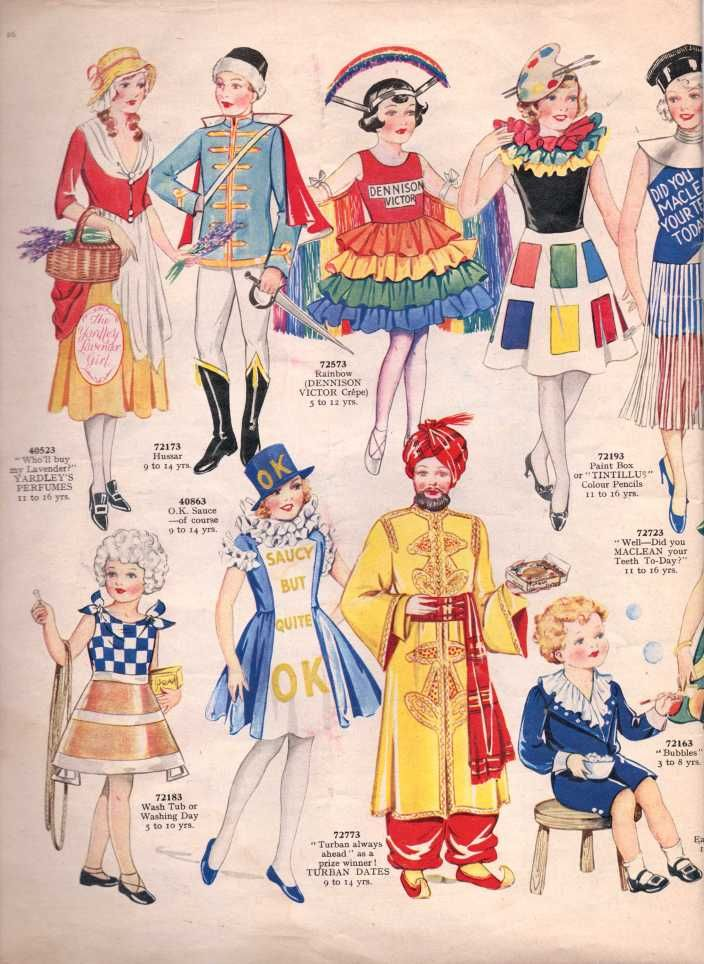 Vintage Sewing Pattern Catalogue Fancy Dress For Children Vintage Knitting Pattern Archive Vintage Costumes Sewing Pattern Catalog Vintage Sewing Patterns