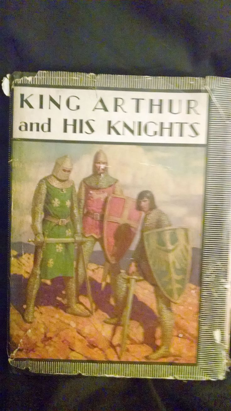 KING ARTHUR AND HIS KNIGHTS, A NOBLE AND JOYOUS HISTORY by PHILIP SCHUYLER ALLEN  CHICAGO: RAND MCNALLY