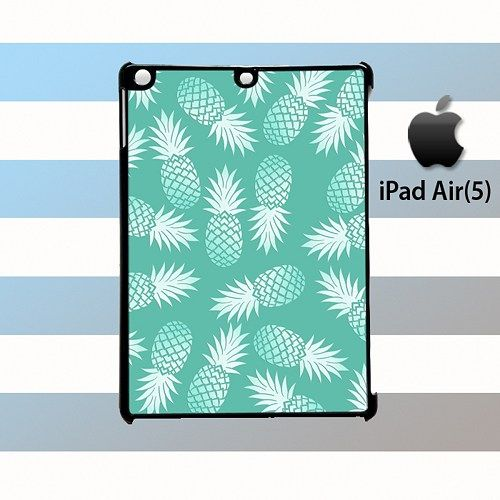 Aqua Pineapple iPad Air 5 Case Cover