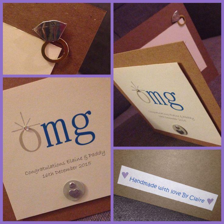 Engagement Card. #OMG