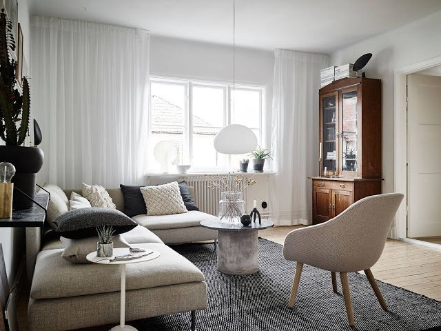 Wonderful use of space in a dreamy Scandinavian apartment Daily Dream Decor