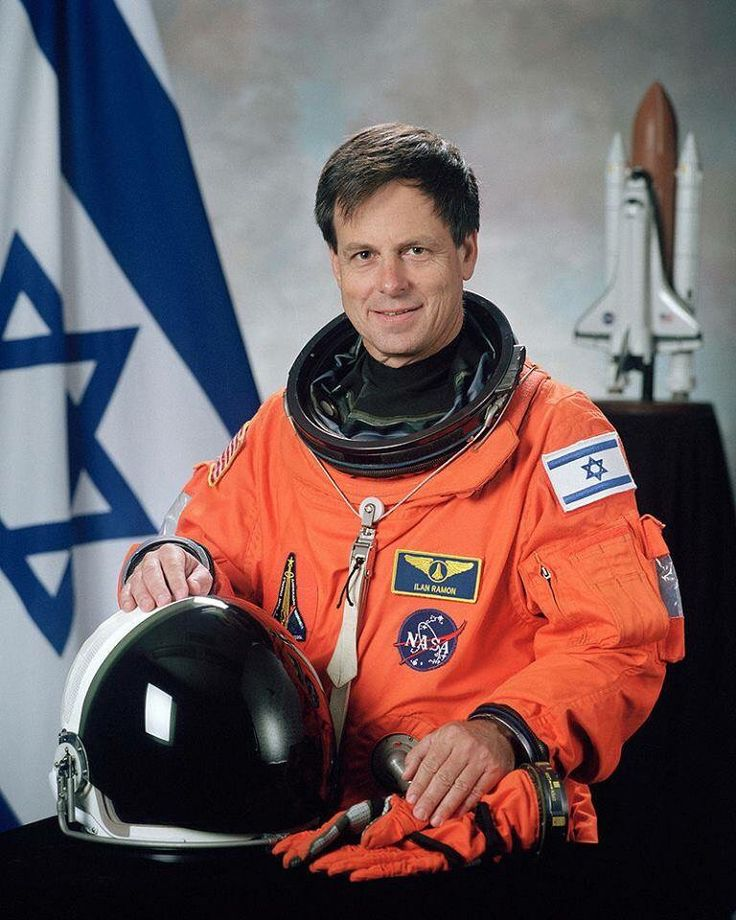 "Columbia Today in History: Thirteen years ago today the first Israeli astronaut, Ilan Ramon, died upon re-entry on the Space Shuttle Columbia, after two weeks in space, with his six fellow crew members.  While in space, Ramon brought with him several objects to remind him of his home, Israel. Among these were an Israeli flag, a copy of a painting called ""the earth as seen from the moon"" made by a teenage boy who died in Auschwitz and a miniature Torah scroll that was given him by a…"