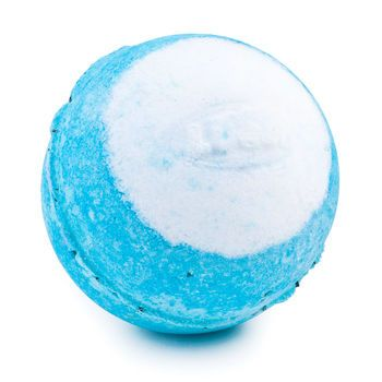 "@Metropolisatmet ""Big Blue"" Bath bomb with sea salt, seaweed, and minerals from LUSH #Findwhatyoulove"