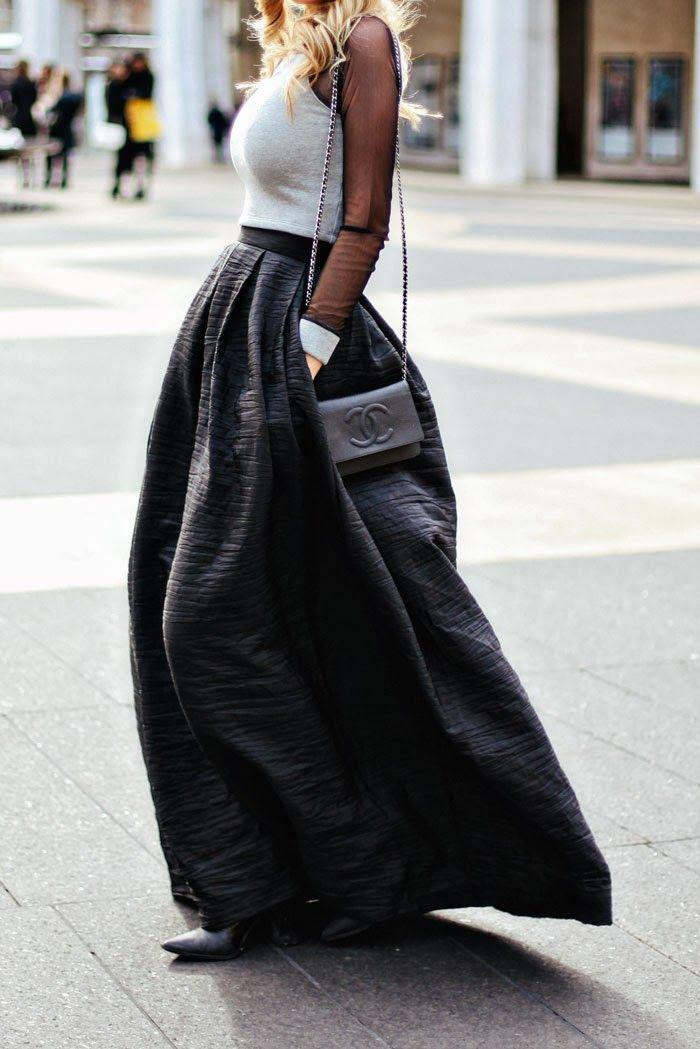 You've gotta <3 a full skirt