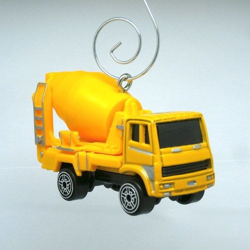 Construction Concrete Mixer Truck Car Christmas by BettyGiftStore