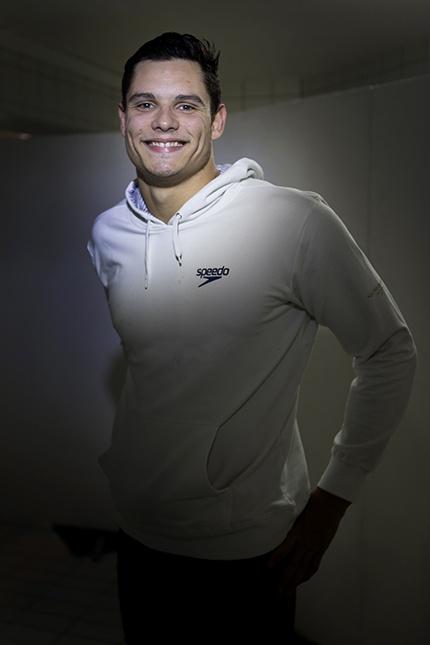 Deux titres individuels et un en relais: Florent Manaudou confirme son statut de leader de la natation française sur 50m. (Photo: Thierry Bonnet/Ville d'Angers)