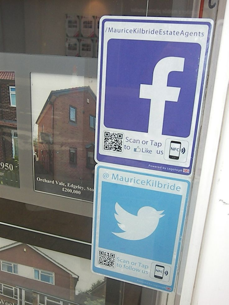 Social Media #Logotags for the UK #Property #EstateAgency industry.